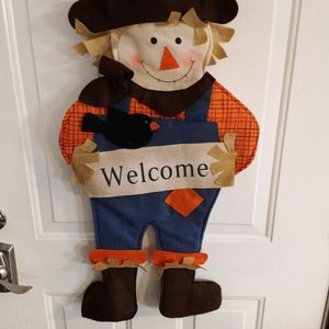 """22"""" cloth WELCOME Scarecrow"""